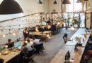 Un espace de coworking aux Etats Unis