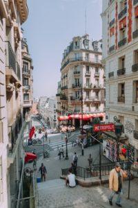 Vue des logements de Paris