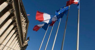 Le Palais Bourbon qui abrite l'Assemblée nationale française