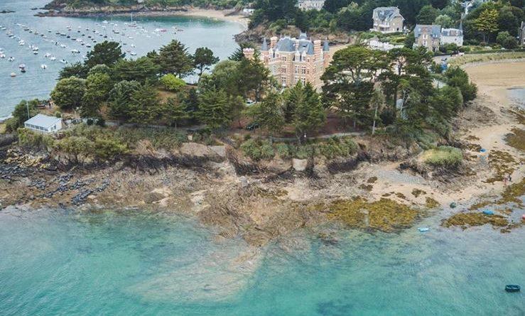 Une vue du littoral de Saint-Briac