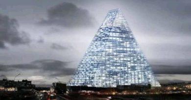 Une vue de la Tour Triangle de Paris