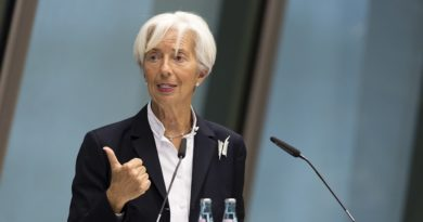 Christine Lagarde lors d'une conférence, le 12 juin 2019