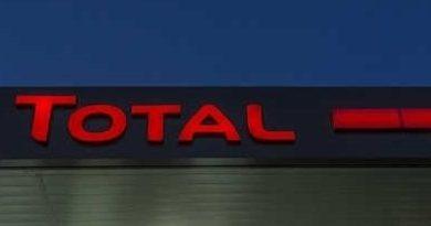 Une plateforme offshore de Total