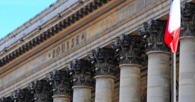 Fronton de la Bourse de Paris