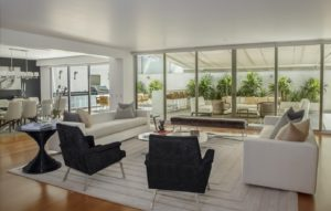 Une maison neuve avec veranda et terrasse