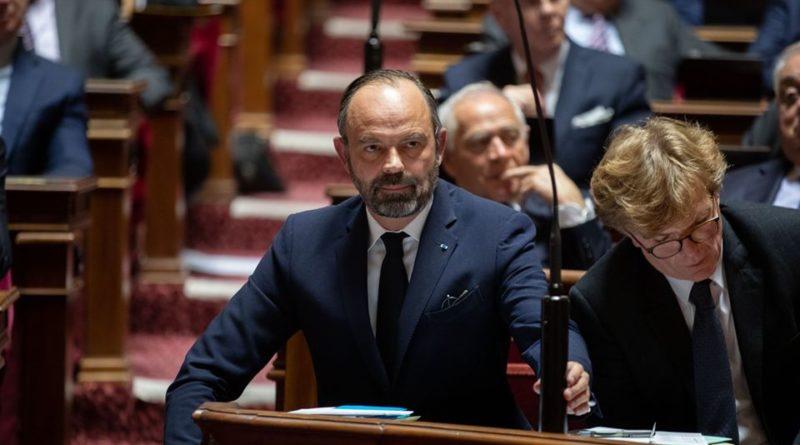 Le Premier ministre Edouard Philippe au sénat, le jeudi 21 novembre 2019