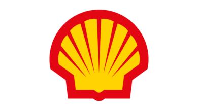 Le logo de Shell.