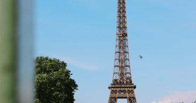 La Tour Eiffel, Paris, France.