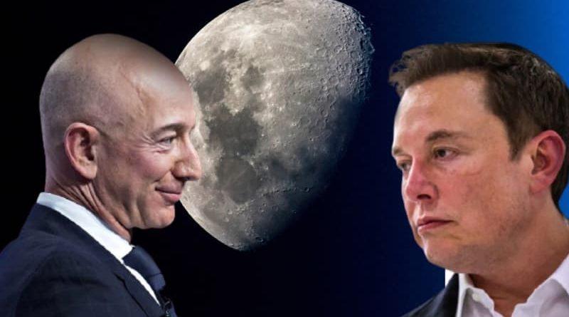 Jeff Bezos prêt à tout pour faire repartir la Nasa sur la lune
